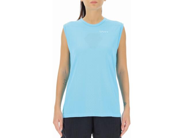 UYN Airstream Sleeveless Running Shirt Women blue atoll
